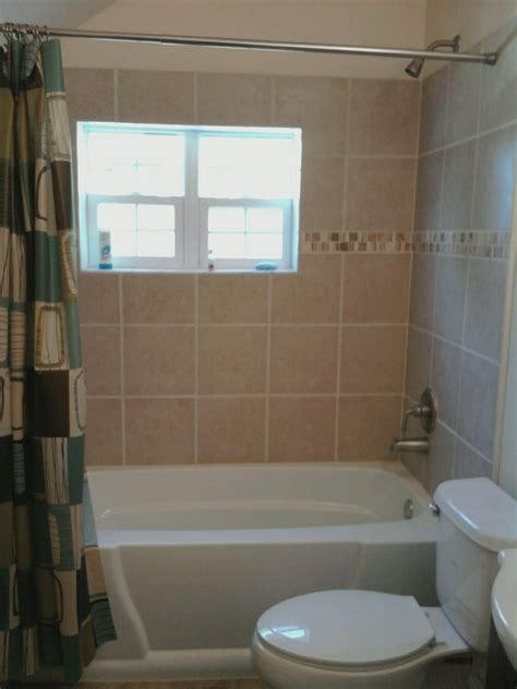 fiberglass or tile tub surround diy