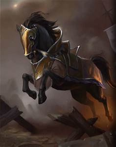 Armored Warhorse - Heroes of Camelot Wiki