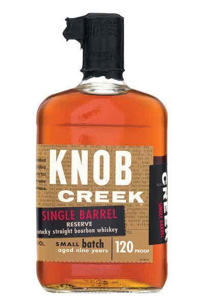 knob creek price knob creek single barrel reserve bourbon whiskey 120 proof
