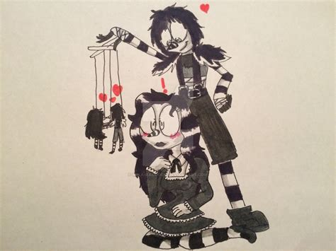 Laughing Jack X Laughing Jill By Mika-raccoon On Deviantart