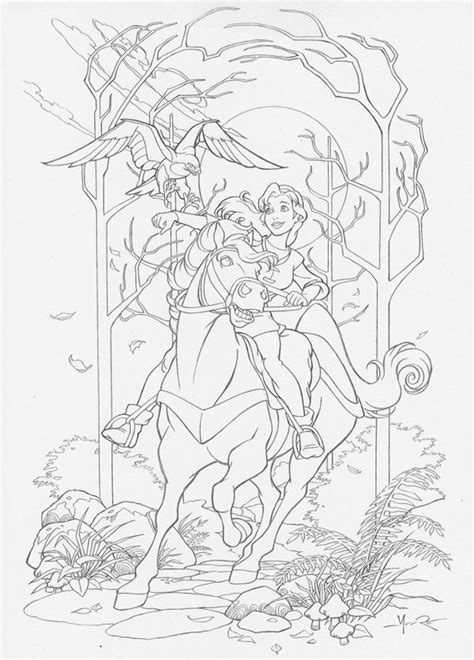 quest  camelot coloring pages disney coloring pages