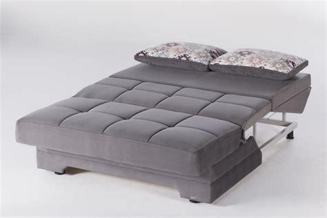 Seat Sleeper by Twist Seat Sofa Sleeper In Gray Sleepworks