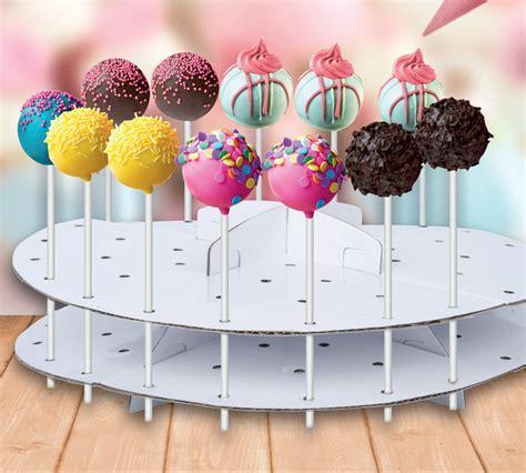 cake pop decoration stand lollipop decorating cardboard