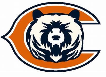 Bears Chicago Concept Logos Clipart Football Clip