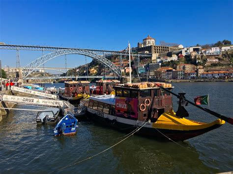 Rabelo Boat Cruise Porto by Porto Porto Portugal Cruise Of The 6 Bridges
