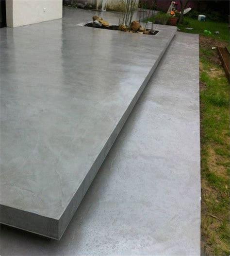 b 233 ton cir 233 terrasse all 233 es de jardin beton beton cir 233 et terrasse beton