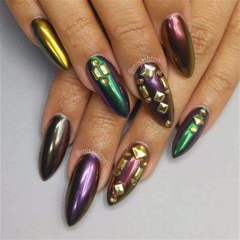 mardi gras nail designs chrome mardi gras nails nail gallery