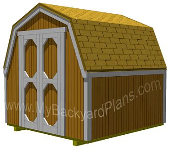 Gambrel Shed Plans 8x8 by Where To Get Gambrel Shed Plans 12x20 Shed Build
