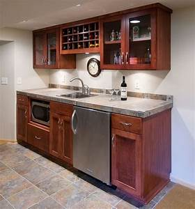 17 best ideas about small basement apartments on pinterest With kitchen cabinets lowes with basement wall art ideas