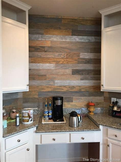 cheap plank wall   home pinterest