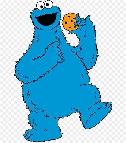 Cookie Monster Elmo Eating Bird Count Ernie