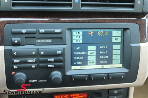 bmw e46 radio bmw e46 radio bordmonitor schmiedmann used parts