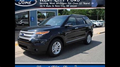 ford explorer xlt tuxedo black metallic