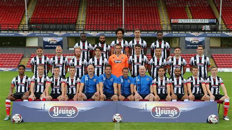 Grimsby Town 1 Rovers 1