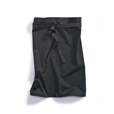 vetement professionnel cuisine tablier cuisine 1780 400 32 bp noir vêtement professionnel