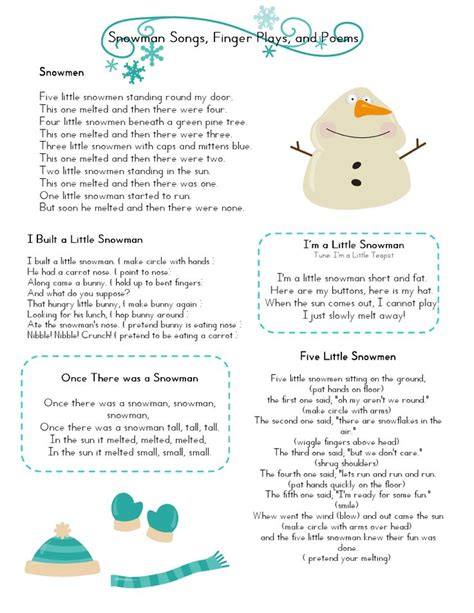 winter songs for preschoolers 1000 ideas about finger plays on preschool 773