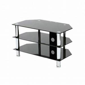Related Ideas Black Glass Tv Stands At Argos