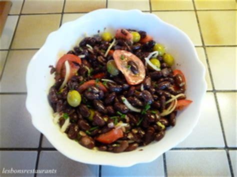 cuisiner des haricots rouges salade de haricots rouges recette iterroir