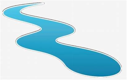 Clipart Stream River Flowing Clip Clipartkey Transparent