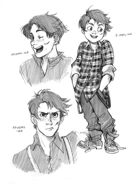 character design exercise by Razuri chan on deviantART