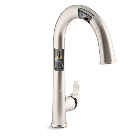Kohler K72218vs Sensate Touchless Kitchen Faucet