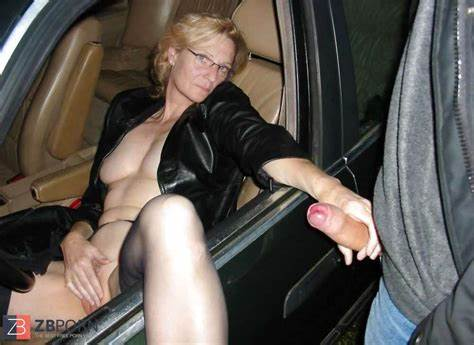 Public Sexual Shame Car Exposure