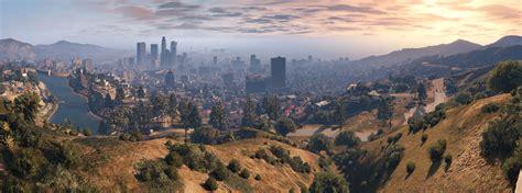 Gaming Gta V In Panoramic Views In 4k  Schrankmonster Blog
