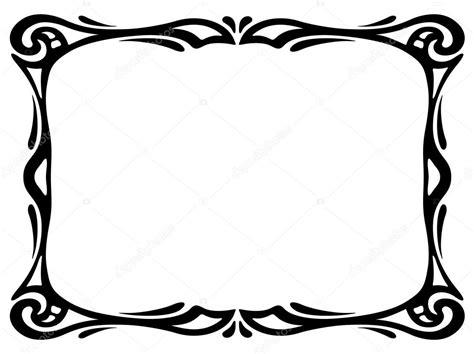 cornici liberty liberty nero cornice decorativo ornamentale vettoriali