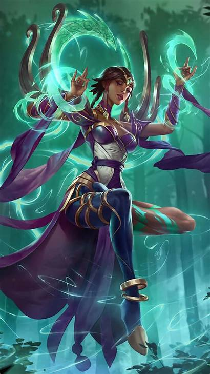 Legends Karma Lol League Kindred Characters Devices