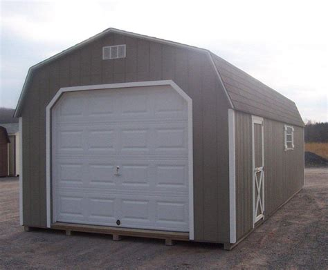 Garage Storage Shed by Storage Sheds 1 2 Car Garages Playhouses Board And