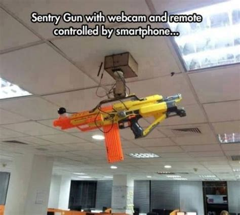Nerf Gun Meme - sentry gun nerf know your meme