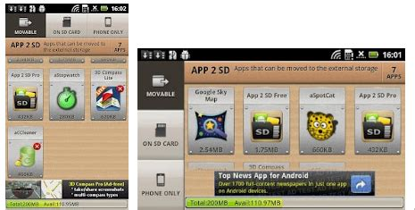 move android apps  sd card  root