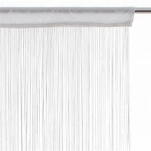 Rideau Fil Pas Cher : rideau fil blanc ~ Teatrodelosmanantiales.com Idées de Décoration