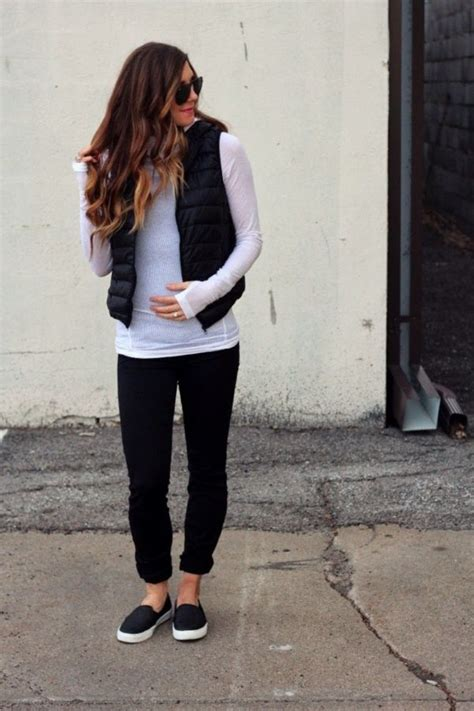 Puffy Vest Outfits Ideas0231 In 2020 Vest Outfits For