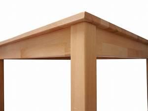 Tisch 140 X 80 : sam massivholz kernbuche tisch 140 x 80 x 75 cm volker auf lager ~ Bigdaddyawards.com Haus und Dekorationen