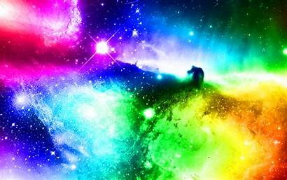 Galaxy Rainbow Space Spectrum Wallpapers Nebula Backgrounds