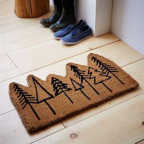 west elm doormat trees coir doormat holidays coir doormat home decor home