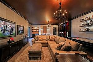 Man Cave 2 - Contemporary - Basement - tampa - by KDS