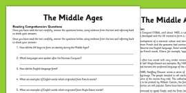 middle ages  middle ages medieval history