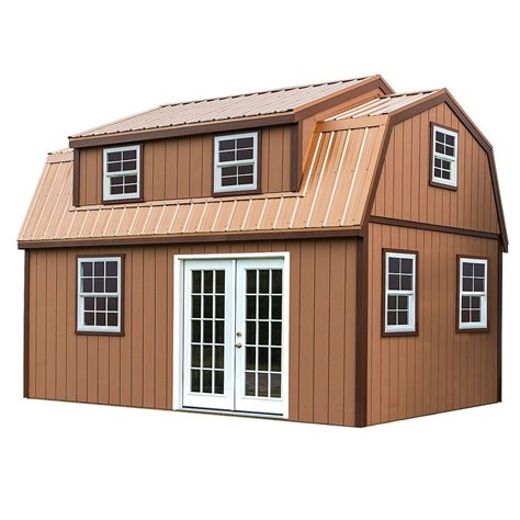 timber shed kits lakewood 12 ft x 18 ft wood storage shed kit without