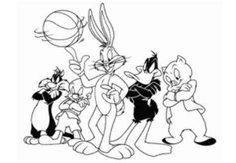 Looney Tunes Coloring Pages - Democraciaejustica