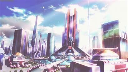 Futuristic Animated Memories Plastic Anime Settings Gifer
