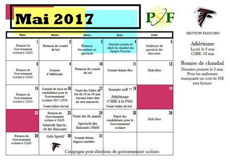 calendrier des activit 233 s polyvalente francois