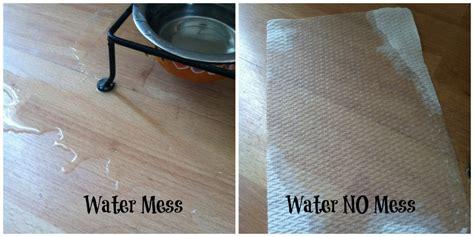 messy  viva vantage paper towels