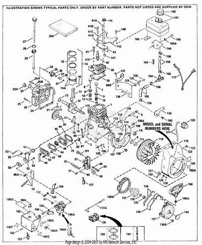 Parts Tecumseh Engine H30 Craftsman H35 Diagram
