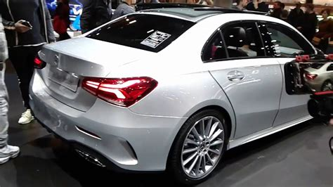 20 models celebrate their world premiere. Mercedes Benz A200 Berline 2019 model full view - YouTube