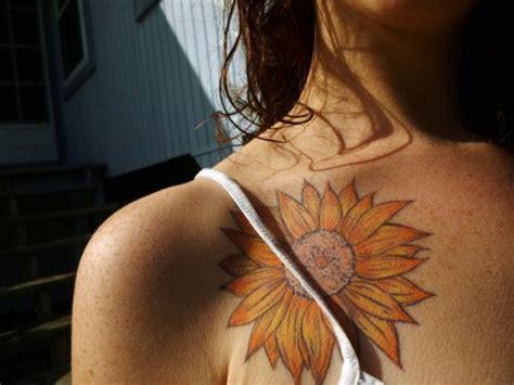 Sunflower Tattoo On Tumblr