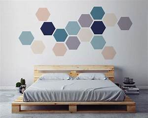 Best geometric wall art ideas on triangle