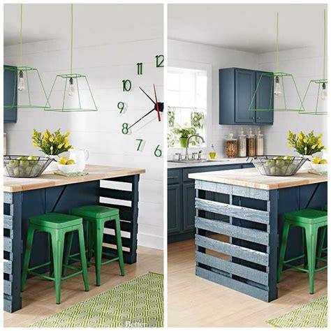 faire ses cadres soi mme superbe faire ses meubles de cuisine soi meme 1 en palette avec couleur de peinture bleu et