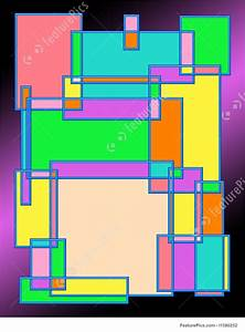Colorful Rectangles Illustration